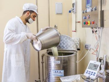 Lavorazione yogurt